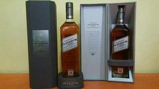 Whisky Platinum Label Red Black Swing Old Parr Chivas Gold