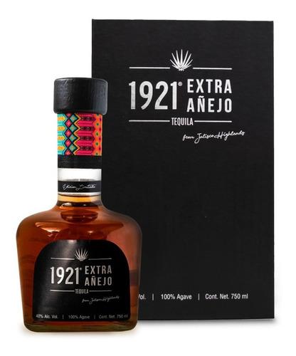 Imagen 1 de 2 de 1921 Tequila Extra Añejo 100% Agave 40% Alc. Vol. 750ml.