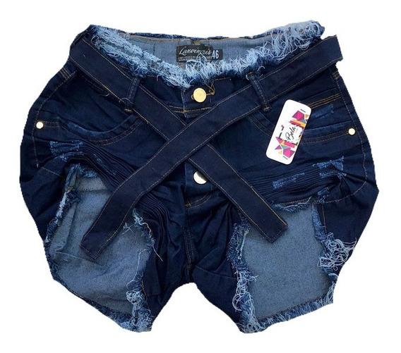 Short Jeans Plus Size Lycra Grande 44 Ao 58