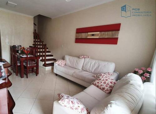 Imagem 1 de 27 de Sobrado Em Condomínio Fechado Com 2 Dormitórios À Venda Por R$ 585.000 - Jardim Íris - São Paulo/sp - So1823
