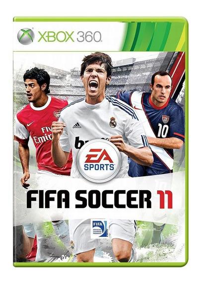 Fifa Soccer 11 Xbox 360 Mídia Física Pronta Entrega