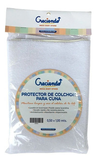 Protector Cubre Colchon Cuna Impermeable Reforzada Creciendo