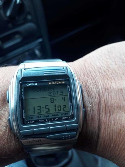 Relógio Casio Pc Unite Raro Na Caixa