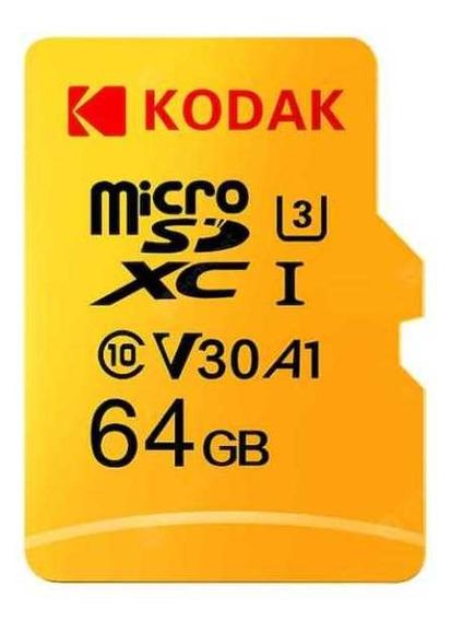 Kit 04 Cartão De Memória 64gb Kodak Classe 10