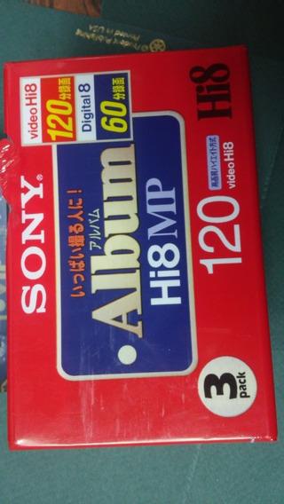 Video Cassette Hi8 Mp Sony 120 Min Digital 8