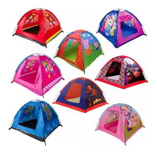 Carpa Infantil Niños Camping Pelotero Spiderman Peppa Mickey