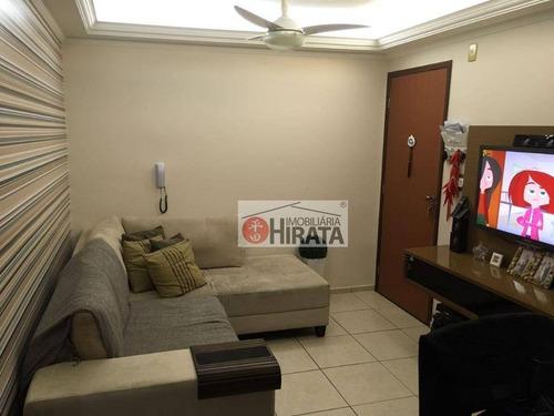 Apartamento À Venda, 62 M² Por R$ 250.000,00 - Ponte Preta - Campinas/sp - Ap2251
