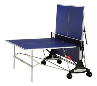 Set De Ping Pong Mesa Kettler Paletas Y 120 Pelotas Pingpong