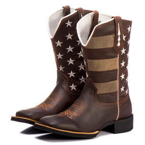 13a79cef84 Bota Texana Masculina Branca Cano Alto - Sapatos no Mercado Livre Brasil