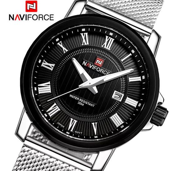 Relógio Masculino Naviforce Original Importado Top A Prova D