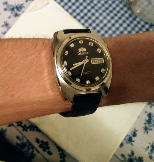 Relógio Pulso Antigo Orient Rarrisimo Perfeito Funcionando
