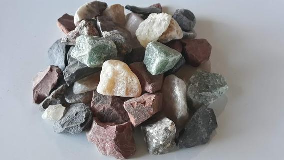 Pedras Brutas Mistas Naturais (3 A 5cm) - 3 Kg