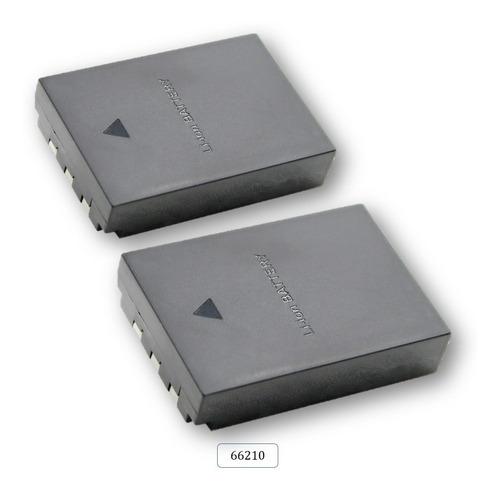 Imagen 1 de 1 de (2) Baterias Mod. 66210 Para Olympus Li-12b
