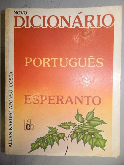 Novo Dicionario Portugues Esperanto