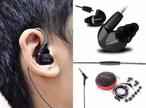Fone Moxpad X6 In Ear Monitor Palco iPhone Dj Koss Shure Top