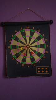 Juego De Dardos (doble) Con 6 Tiros. (rojo Y Amarillo)