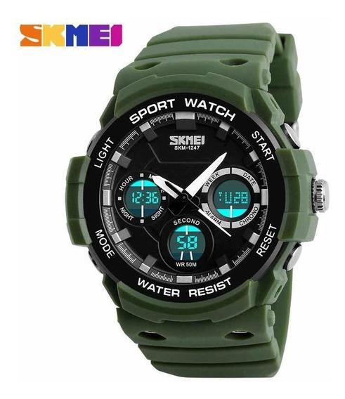 Relógio Skmei Top Original Militar Luxo Esportivo Promoção