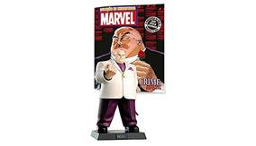 Figura Coleção Marvel - O Rei Do Crime + Revista - Lacrados