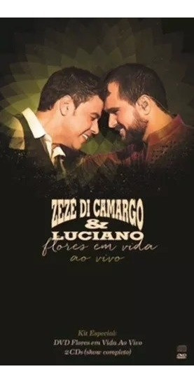 Box Flores Em Vida Zeze Di Camargo & Luciano - Dvd + 2 Cds