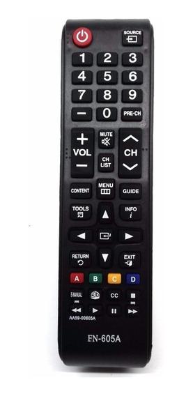 Controle Remoto Samsung Aa59-00605a-un40f6100 Lcd Led Plasma