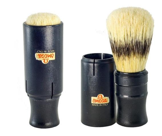 Pincel De Barba Omega Com Cerdas Naturais - 50014