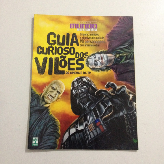 Revista Guia Curioso Dos Vilões Do Cinema E Da Tv C2