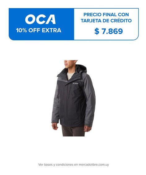 Hombre Columbia Whirlibird Iv Jacket (011) Shark Winter