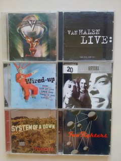 Cd Van Halen, Nirvana, Foo Fighters