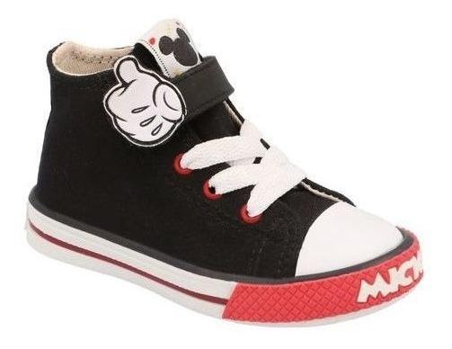 Tenis Disney Mickey Niño Negro/rojo M610987