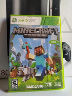Minecraft Xbox 360 Original Físico Usado