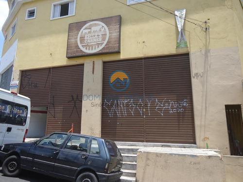 Salão Comercial Para Locação Em Embu Das Artes, Jardim Santa Emilia, 1 Banheiro - Sl069_2-1114472
