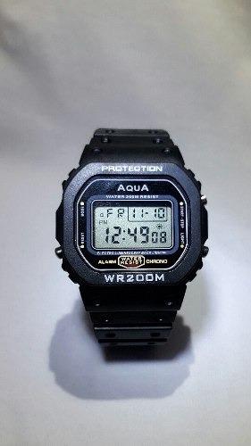 Relógio Masculino Digital Barato Aqua Wr200 Prova D