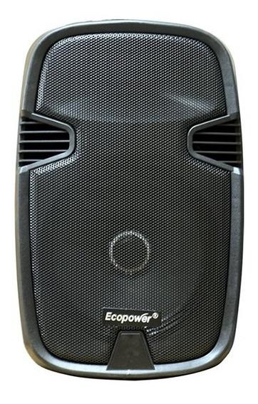Caixa Ecopower 12 Pol Ep-1922 - Bluetooth - 2 Microfones