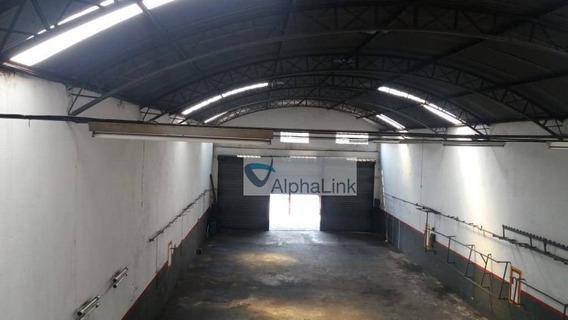 Galpão Para Alugar, 500 M² Por R$ 5.000,00/mês - Jardim Piratininga - Osasco/sp - Ga0065