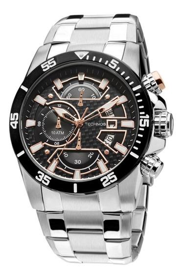 Relógio Masculino Technos Prata Os10eq/1p