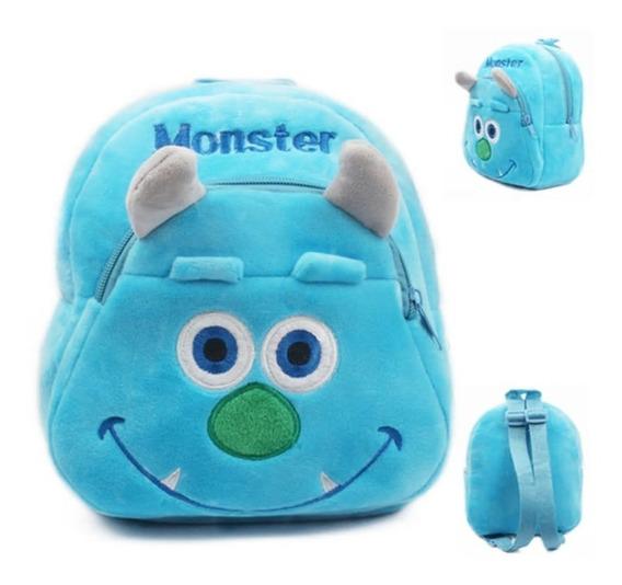 Mini Mochila Bolsa Bebê Infantil 3d Passeio Creche Escola