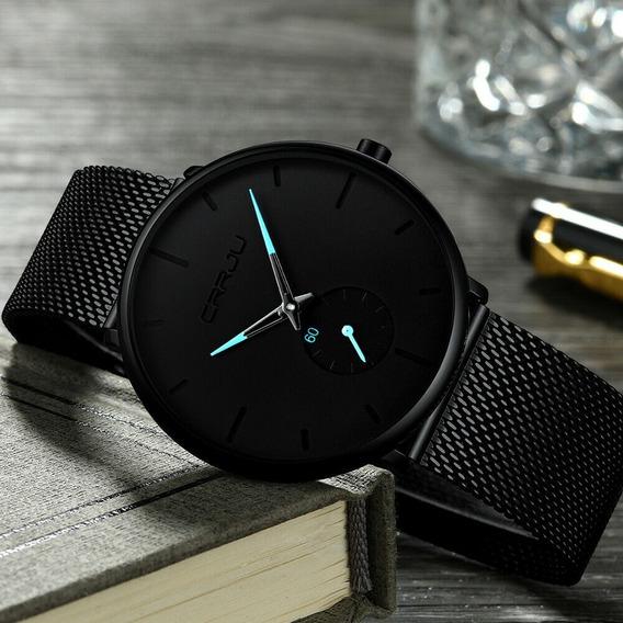 Relógios Crrju Fashion Luxo