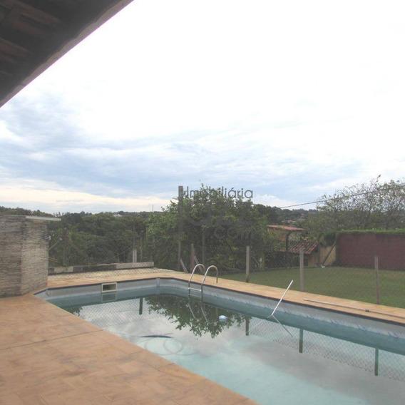 Chácara Com 3 Dormitórios À Venda, 1000 M² Por R$ 650.000 - Vale Verde - Valinhos/sp - Ch0083