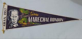 Flâmula Turma Marechal Rondon Amam 1957 Agulhas Negras