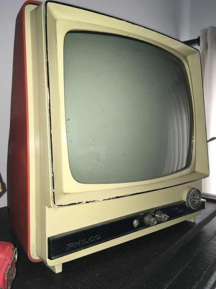 Tv Philco Antiga Para Decoração