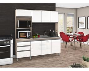Cozinha Compacta B112 08 Portas 02 Gavetas Briz