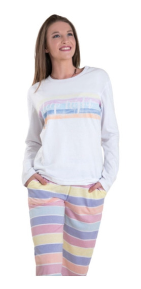 Pijama Invierno Mujer Dama Talles Especiales Varios Modelos