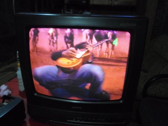 Tv Antiga Semp 14 Polegadas Colorida Conserto Ou Pecas