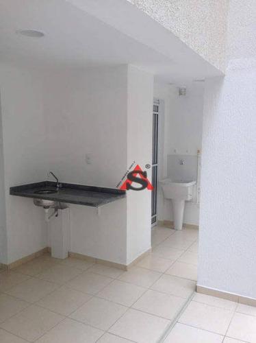 Apartamento Com 1 Dormitório À Venda, 47 M² Por R$ 500.000,00 - Bela Vista - São Paulo/sp - Ap40073