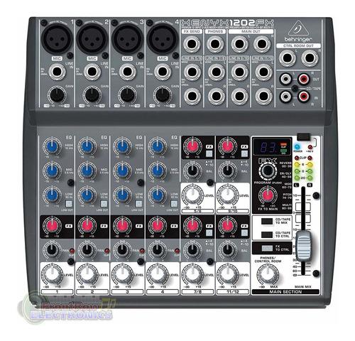 Imagen 1 de 4 de Mixer Behringer 1202fx Consola Pasiva Mezclador Fx Xenyx