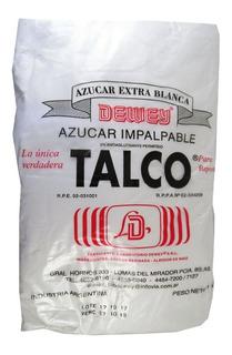 Azucar Impalpable Talco Dewey X 10 Kg Cotillon Sergio Once