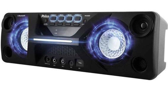 Caixa De Som Philco Pcx4000 130w Rms Bluetooth Mp3 Usb Fm