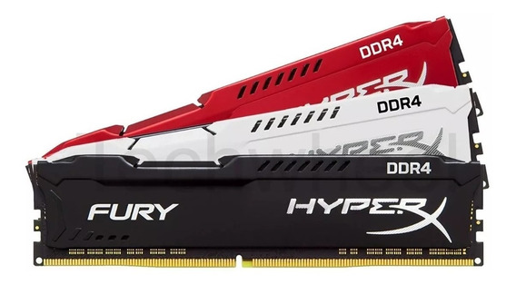 Memoria Desktop Hyperx Fury 8gb Ddr4 3200mhz Hx432c18fb2/8
