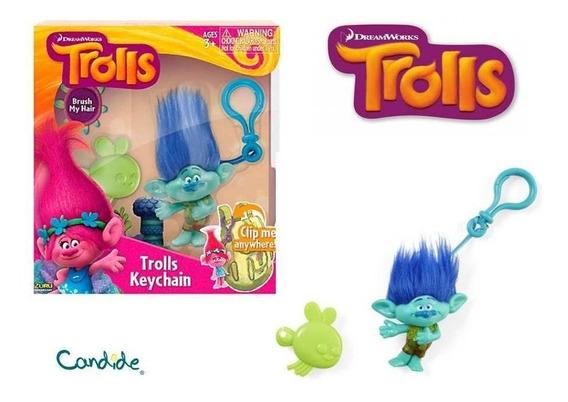 Trolls Chaveiro Médio Branch - Candide