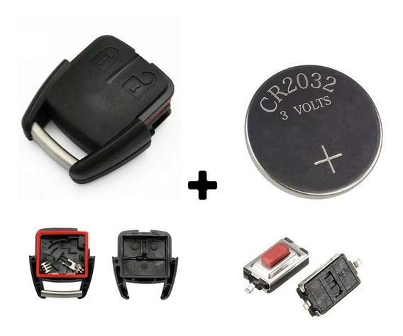 Kit Capa Alarme Corsa Astra Celta Prisma C/ Bateria E Botões